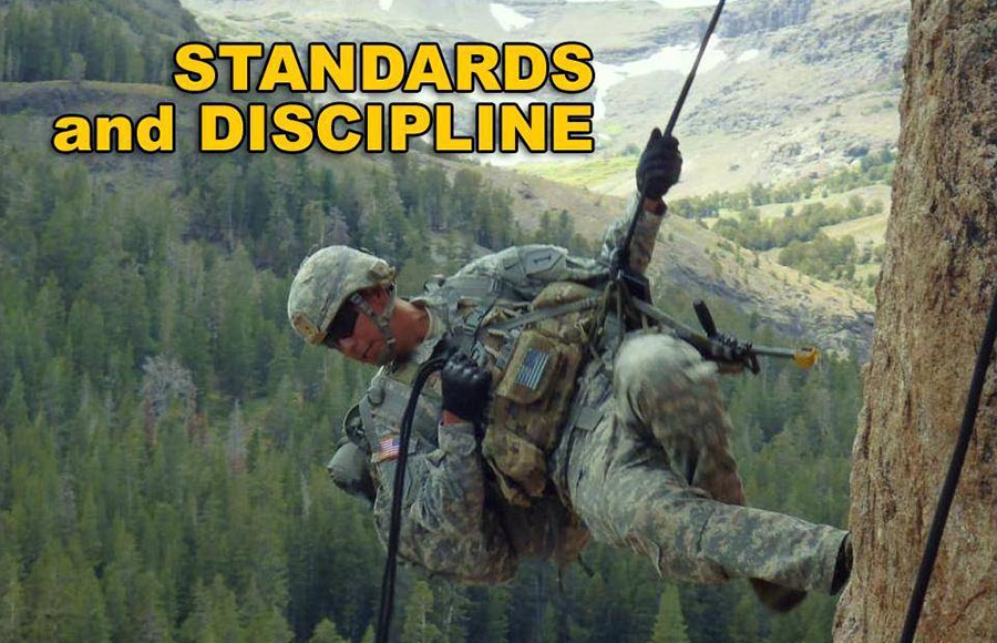 standards and discipline